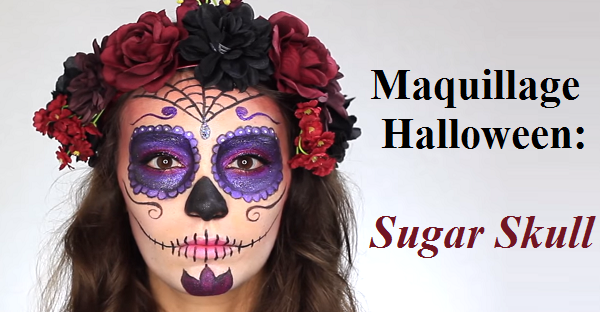 blog maquillage halloween sugar skull rallonges de. Black Bedroom Furniture Sets. Home Design Ideas