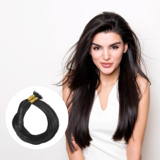 extensions de cheveux nano rings