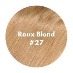 extensions cheveux roux blond