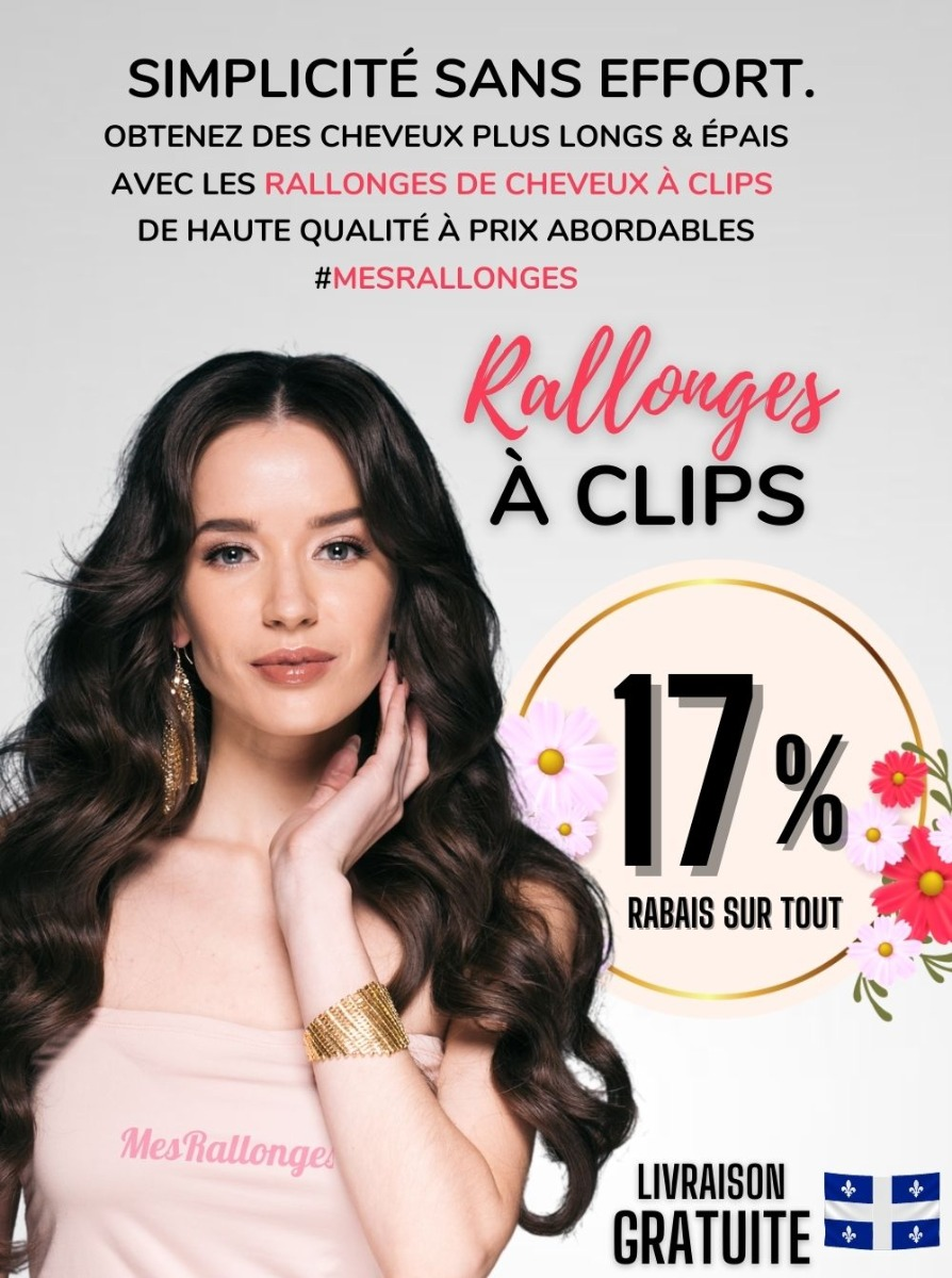 Extensions Cheveux Clips