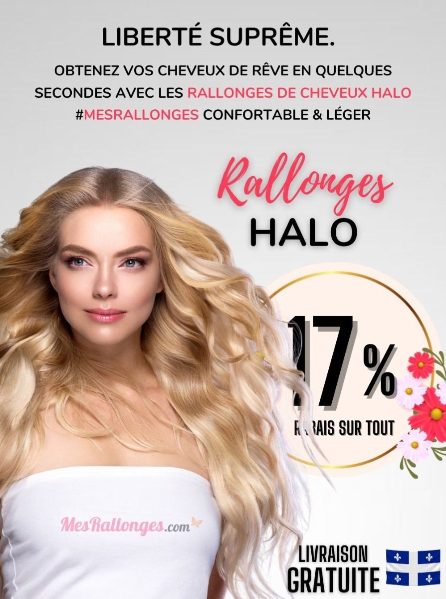 Extensions Cheveux Halo